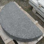 frilagt sort granit