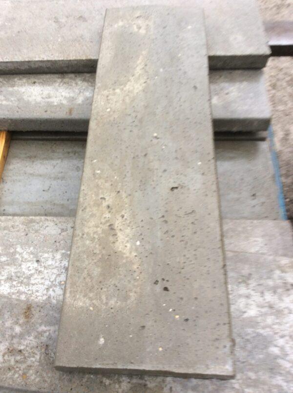 Afdækninger i 18-23-25cm støbes med strukturoverflade